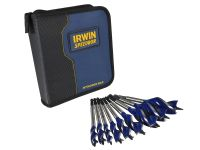 Irwin 6X Auger Bit Set With Wallet 9 Piece